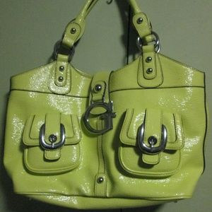 GUESS large  Green Handbag